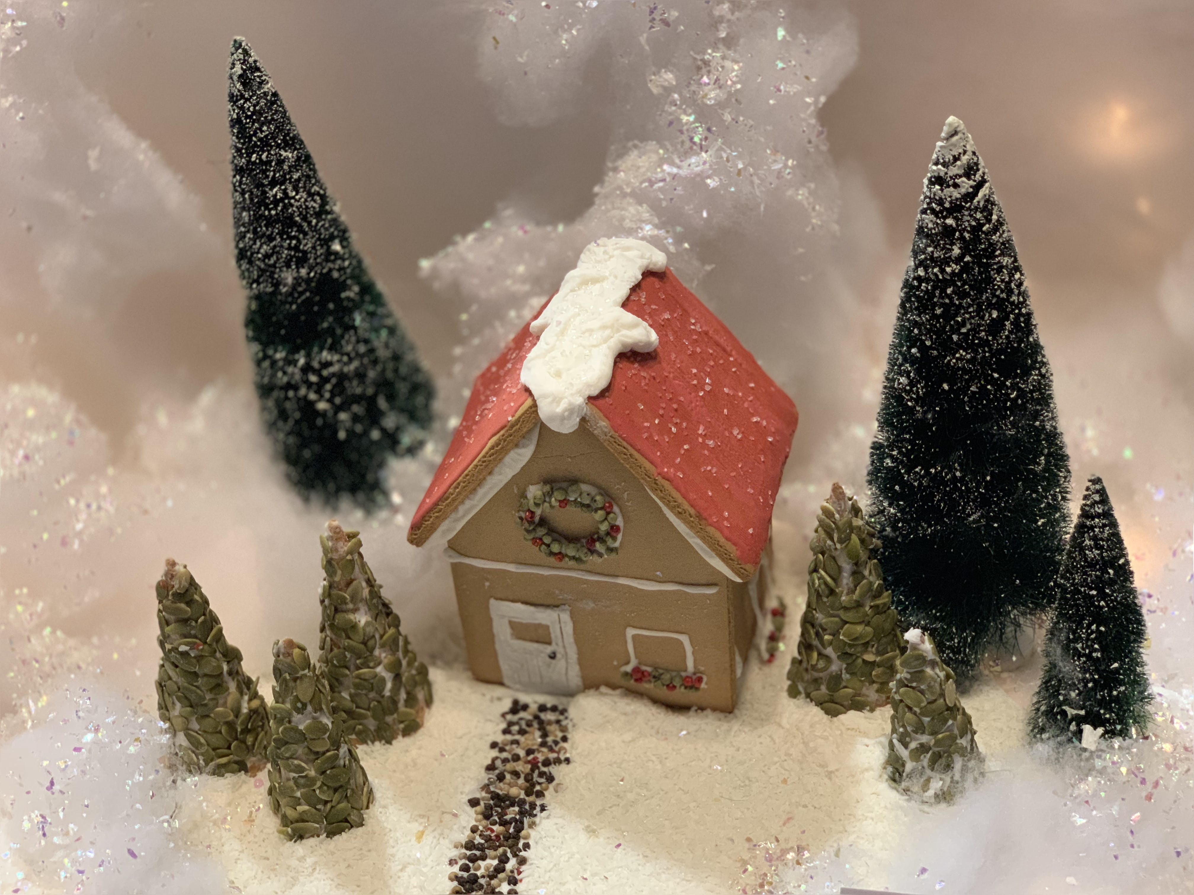 Free stock photo of christmas, gingerbread, gingerbread house, holidays