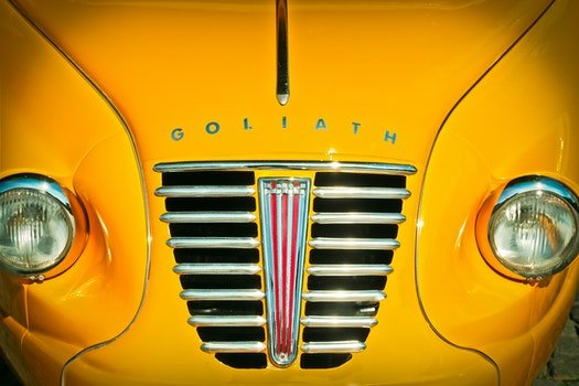 Yellow Goliath Car