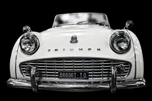 Foto profissional grátis de automobilístico, automóvel, clássico, faróis