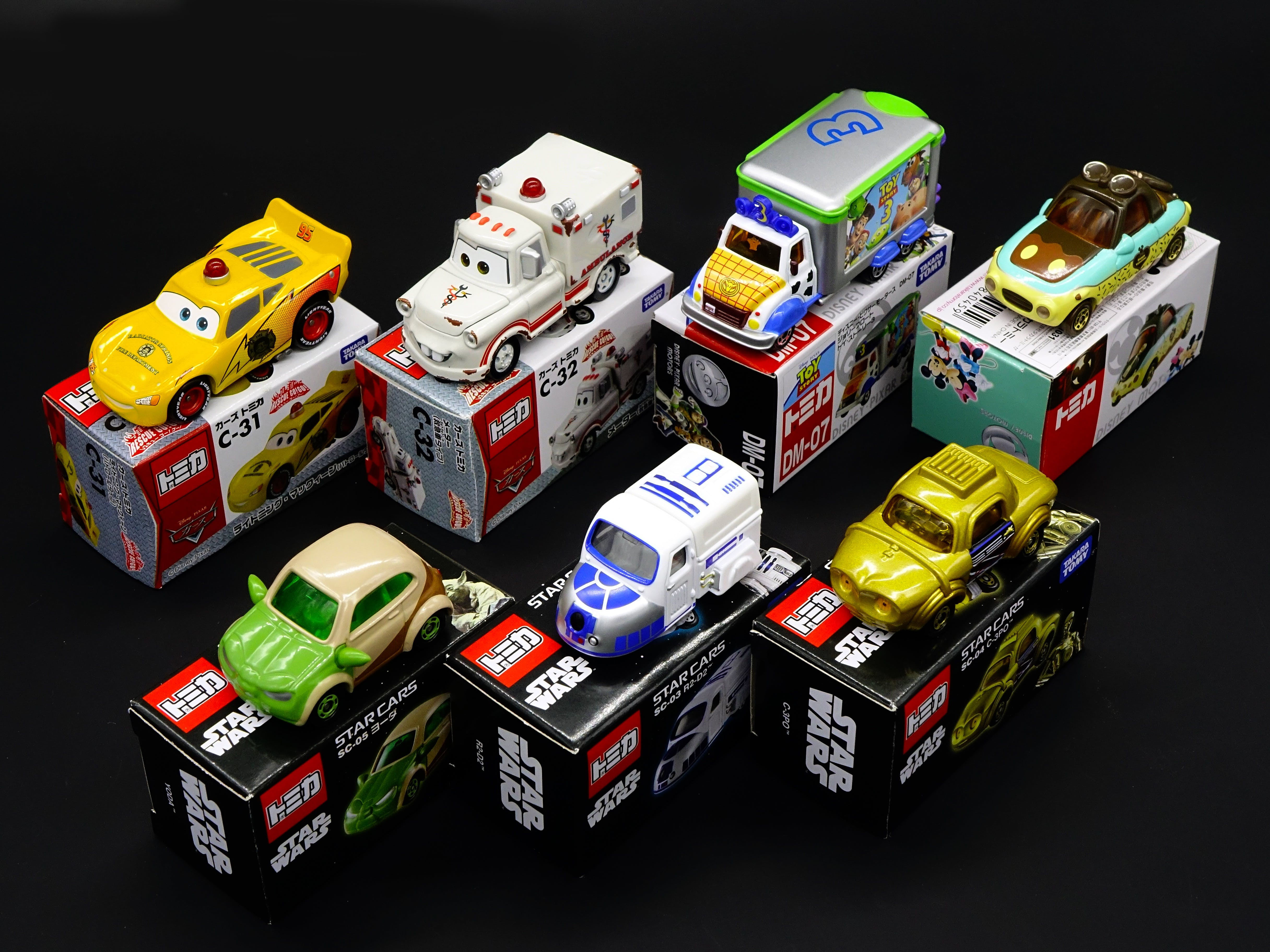 Tomica Cars Collections