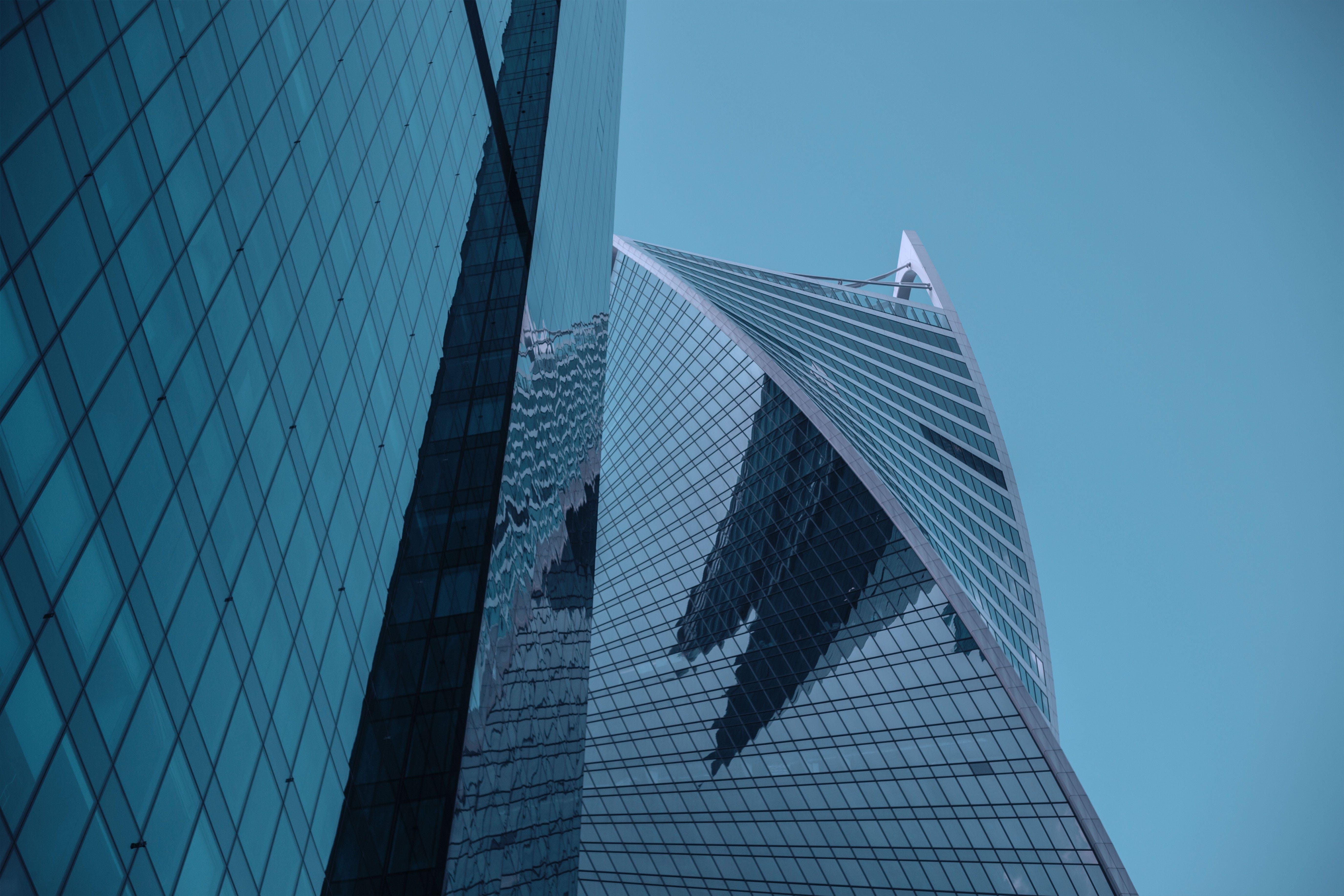 Black Glass High Rise Building