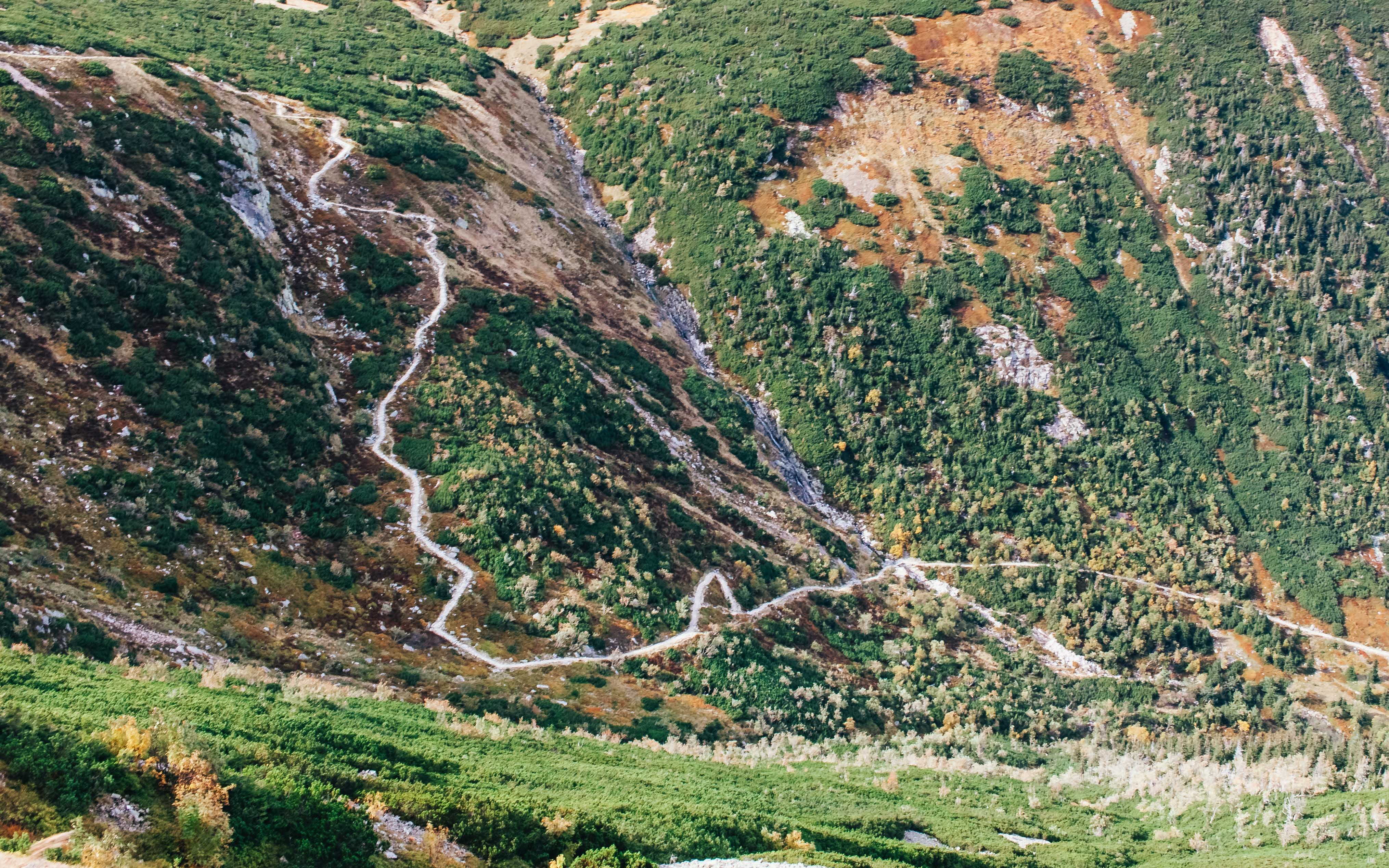 Foto profissional grátis de calçada, montanha, natureza, paisagem