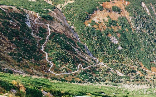 山, 歩道, 自然, 風景の無料の写真素材