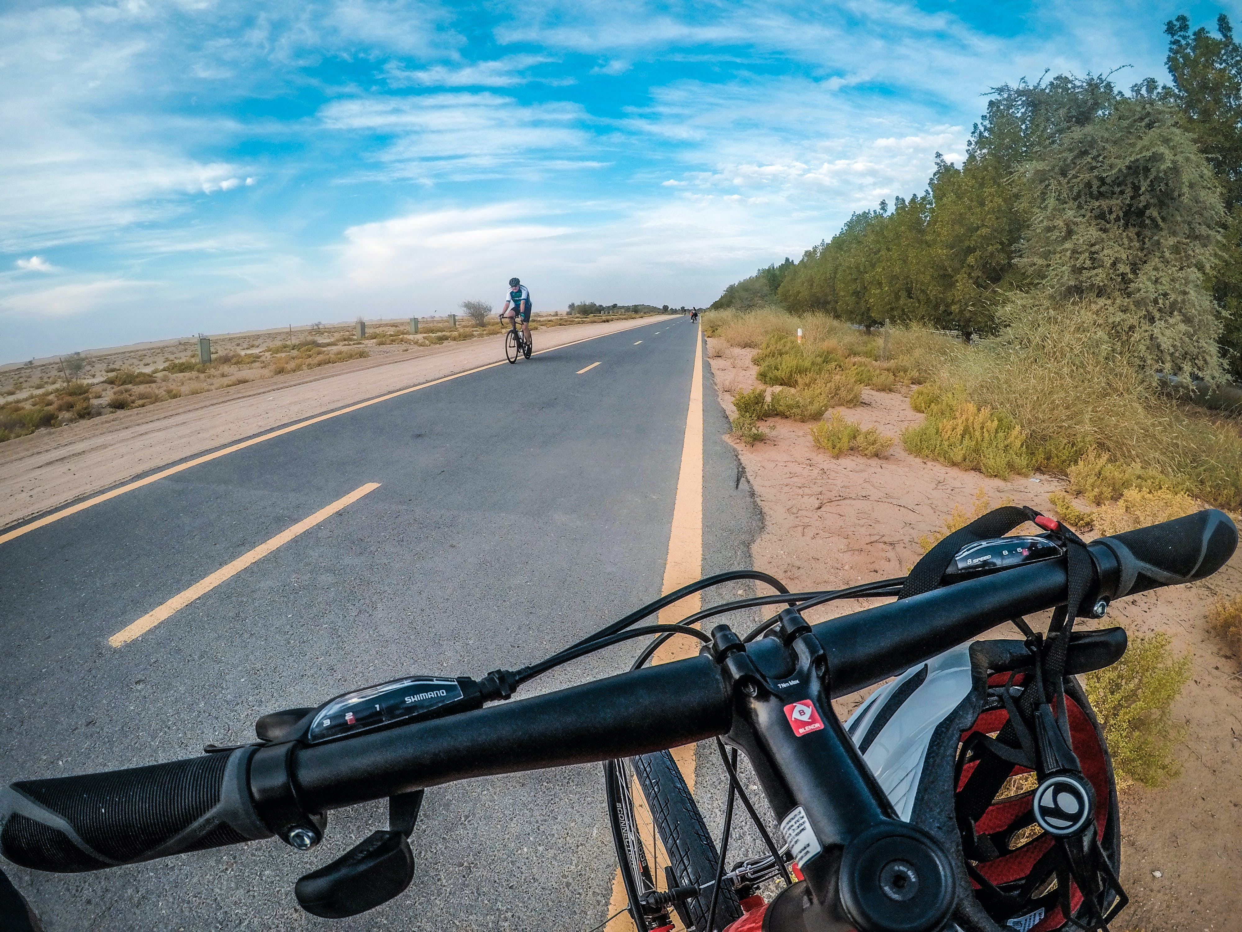Free stock photo of bicycle, dirt road, gopro