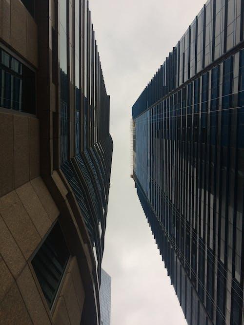 Základová fotografie zdarma na téma #mobilechallenge, budova, fotka zvysokého úhlu, infrastruktura