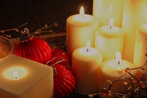 Immagine gratuita di aromaterapia, brillante, bruciato, candela