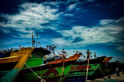 Základová fotografie zdarma na téma člun, krása v přírodě, láska, modrá