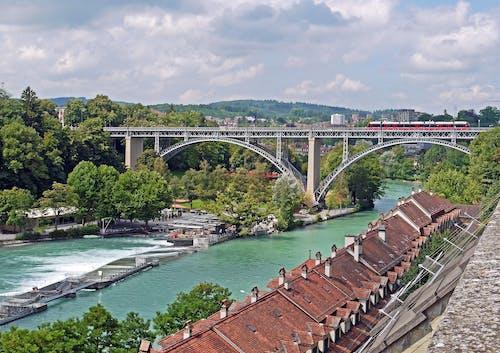 Základová fotografie zdarma na téma architektura, budova, infrastruktura, most