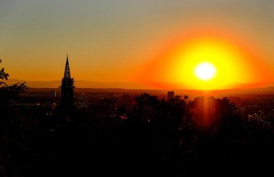 Sunrise on Village