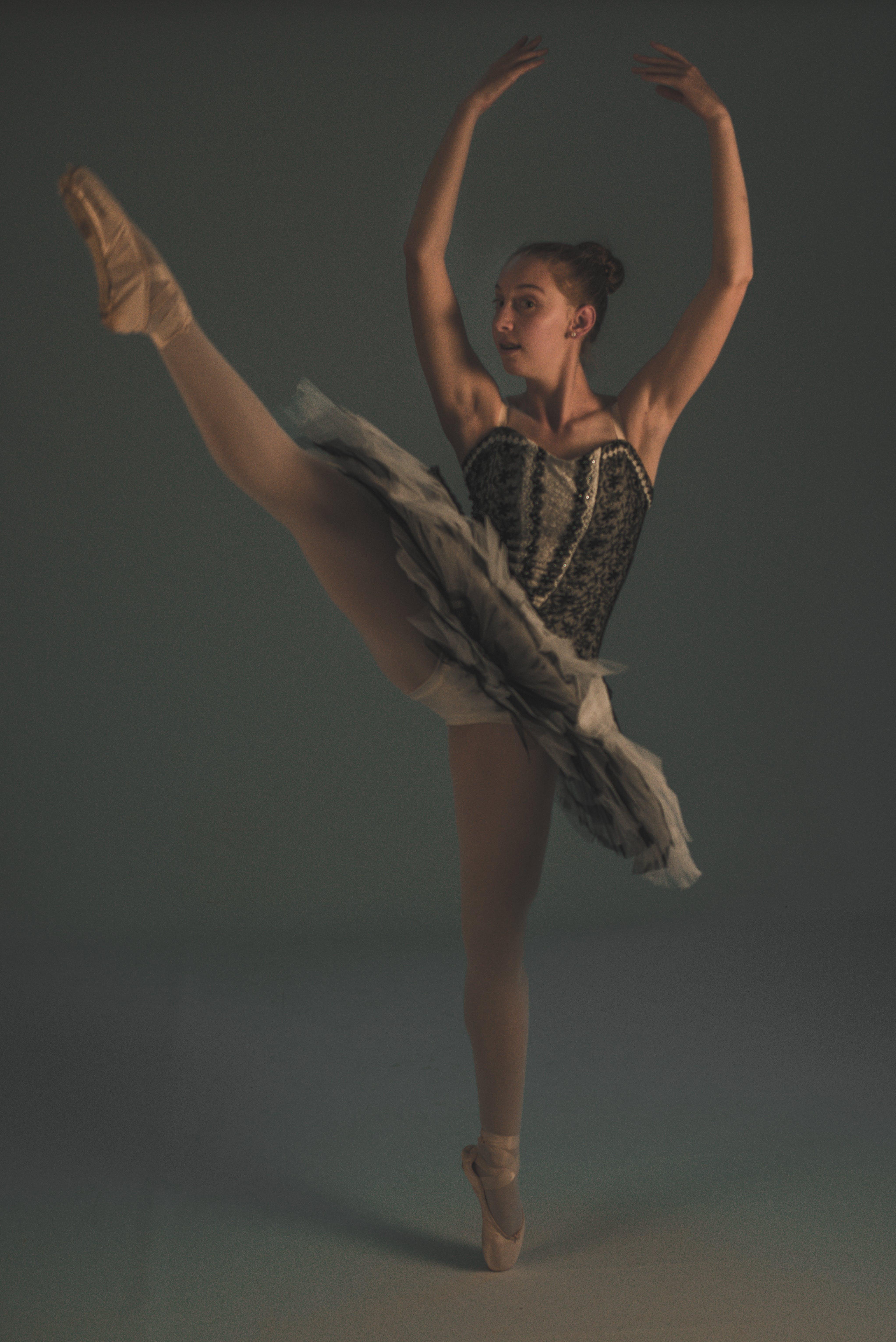 공연, 균형, 댄서