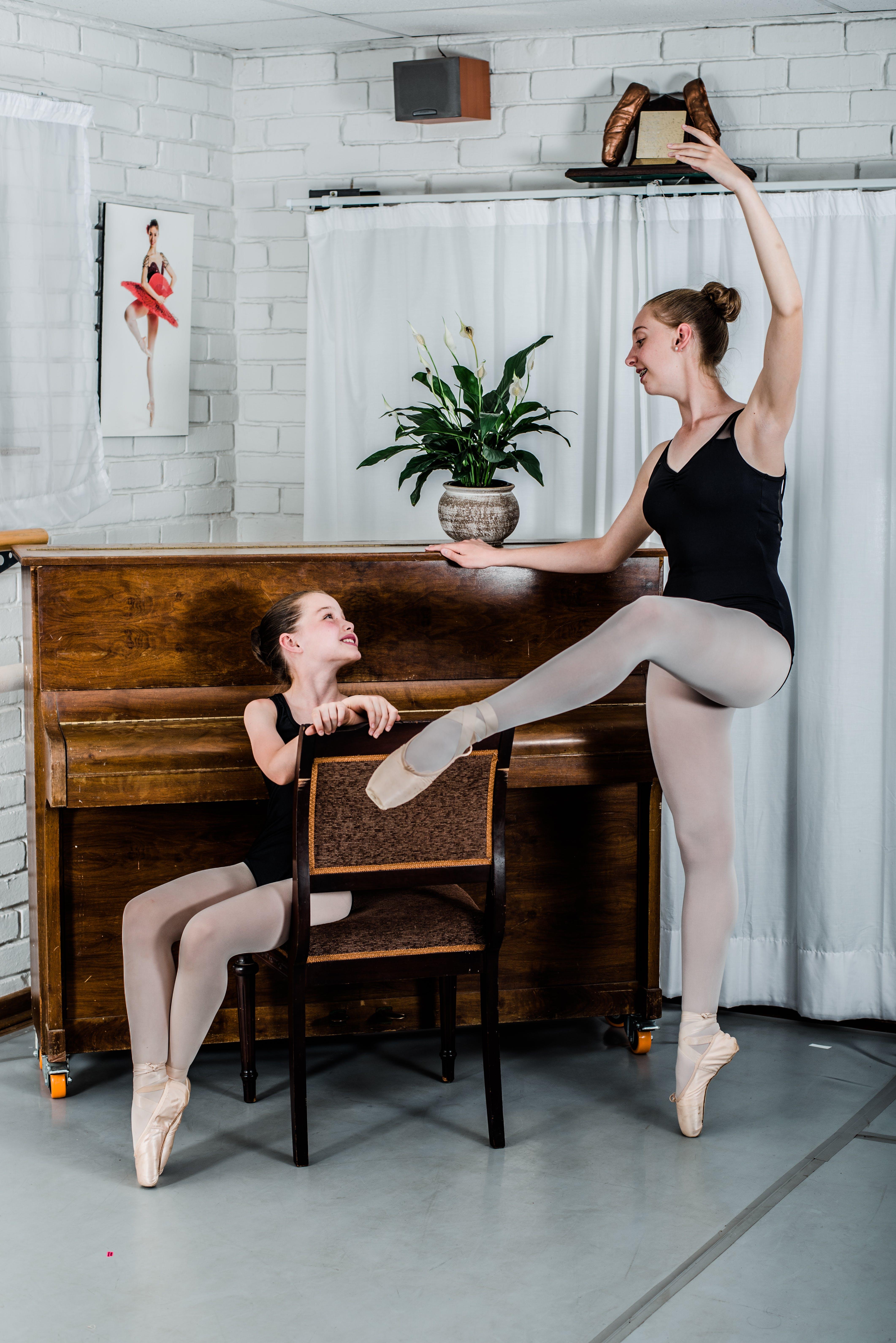 Two Ballerina Near Piano