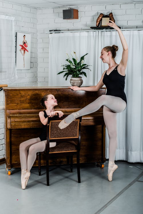 Fotobanka sbezplatnými fotkami na tému balet, baletka, baletná trieda, baletné topánky