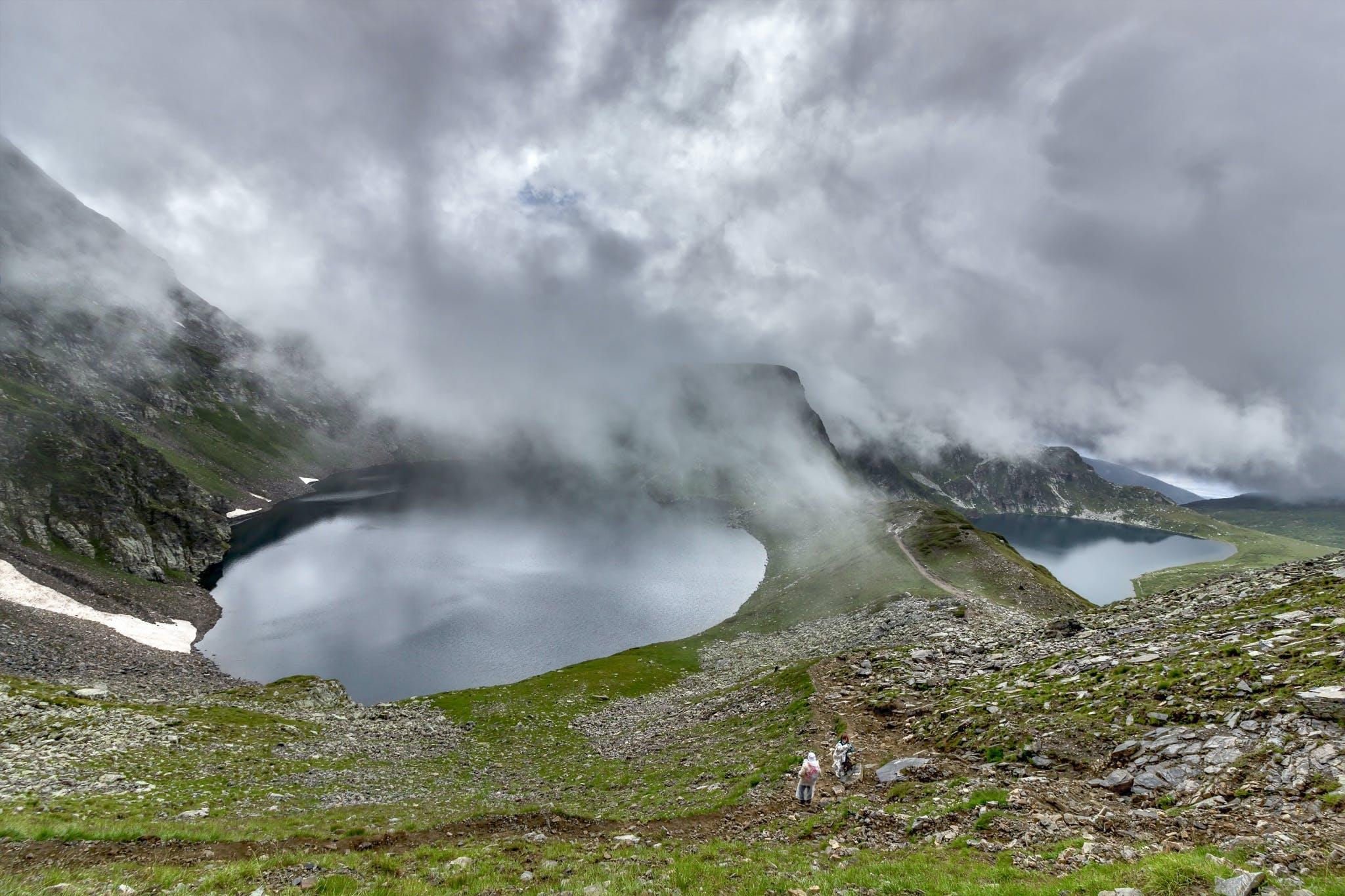 Kostenloses Stock Foto zu 7 rila-seen-region, berg, eruption, felsen