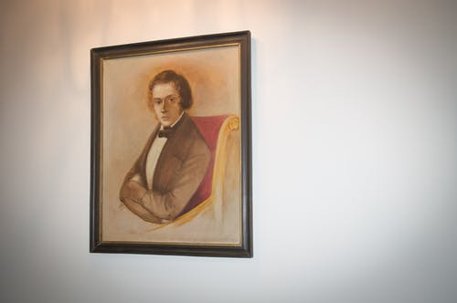 Free stock photo of Chopin, painting, portrait