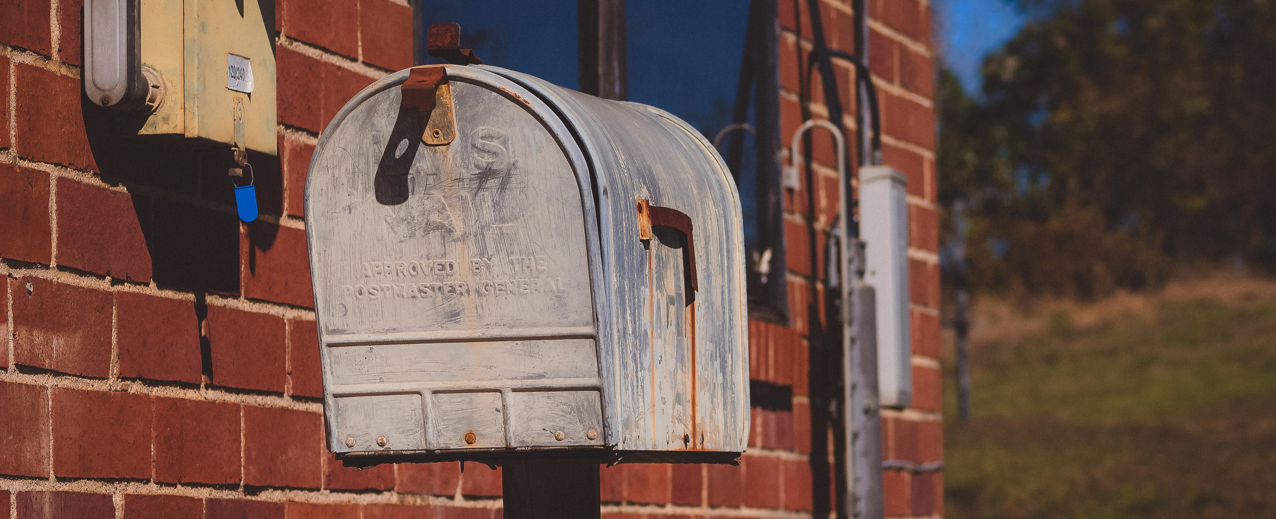 Free stock photo of antique mailbox, mail, mailbox, old mailbox