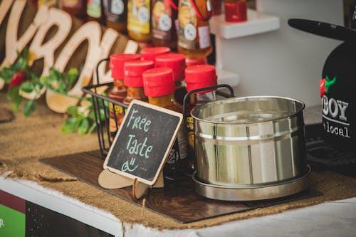 Free Taste Signage