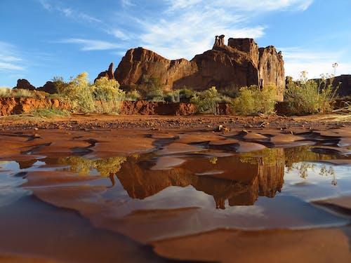 反射, 天性, 峽谷, 戶外 的 免费素材照片