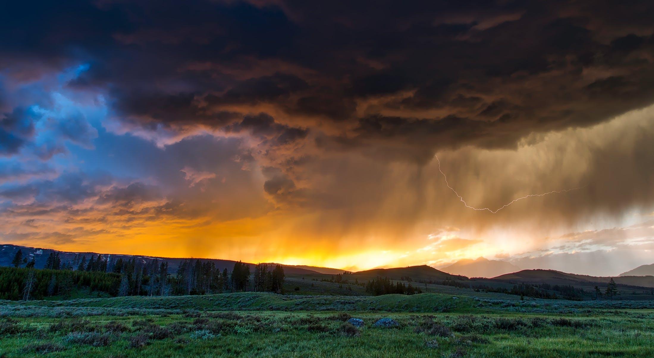 Základová fotografie zdarma na téma krajina, louky, malebný, mraky