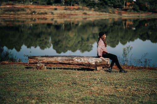 人, 休閒, 和平的, 坐 的 免費圖庫相片