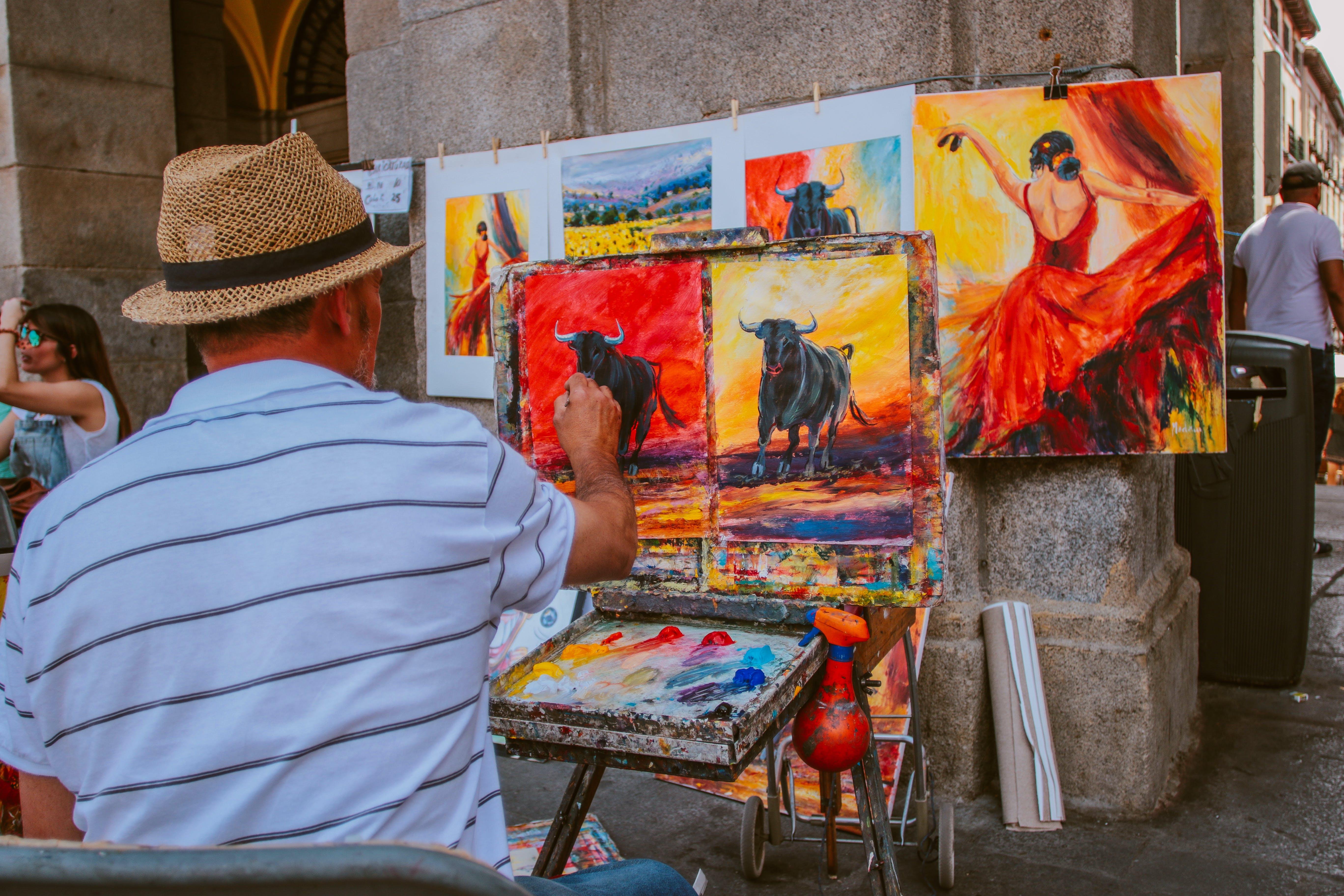 art, art materials, artist