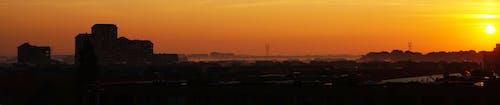 Foto profissional grátis de alvorecer, céu, cidade, horizonte