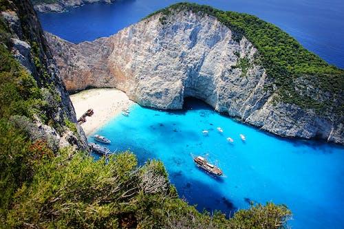 Immagine gratuita di acqua, costa, grecia, litorale
