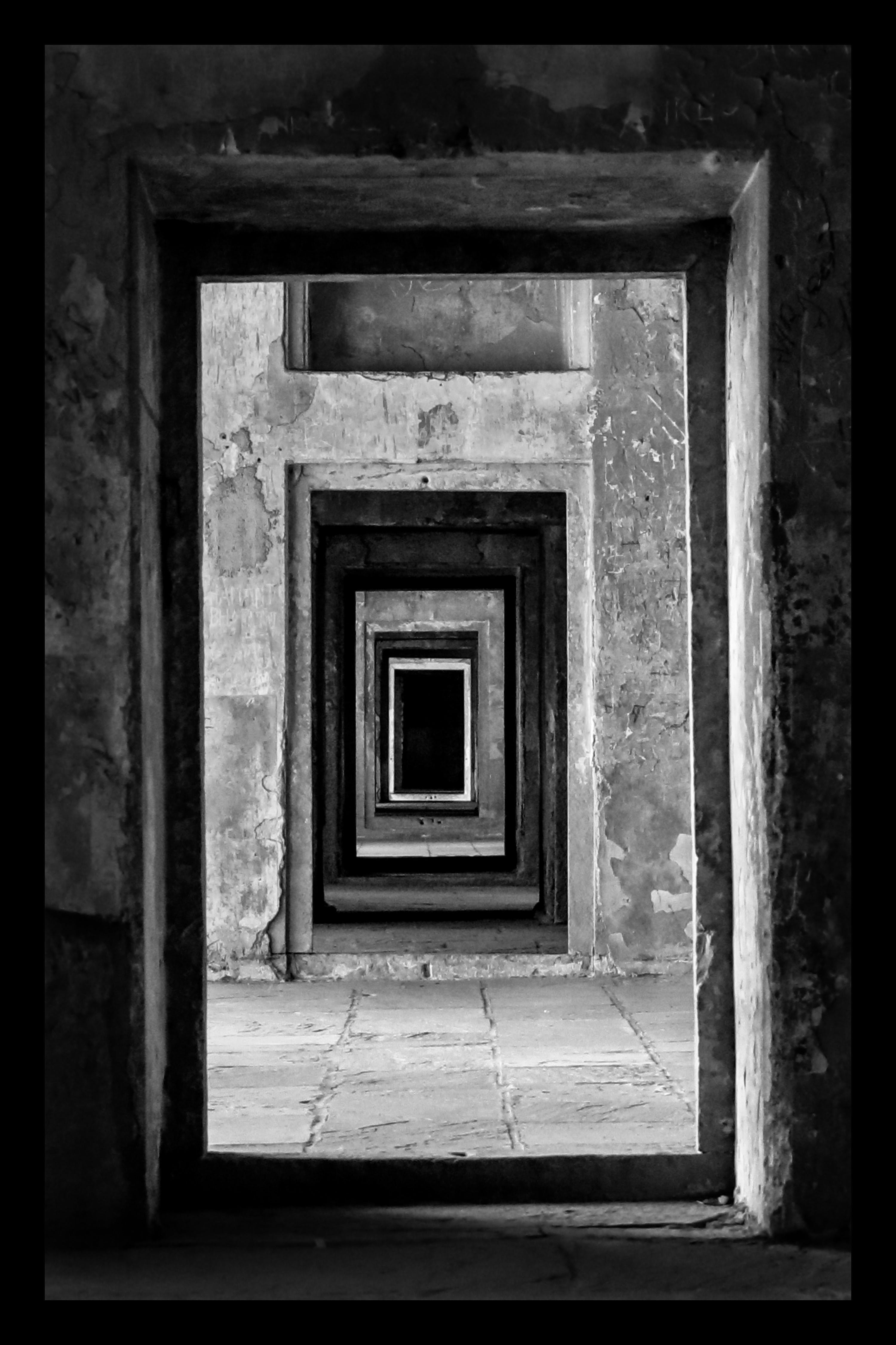 Free stock photo of ancient, architectural, architecture, black and white