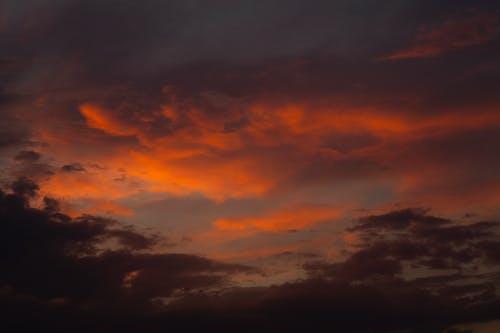Orange and Blue Sky