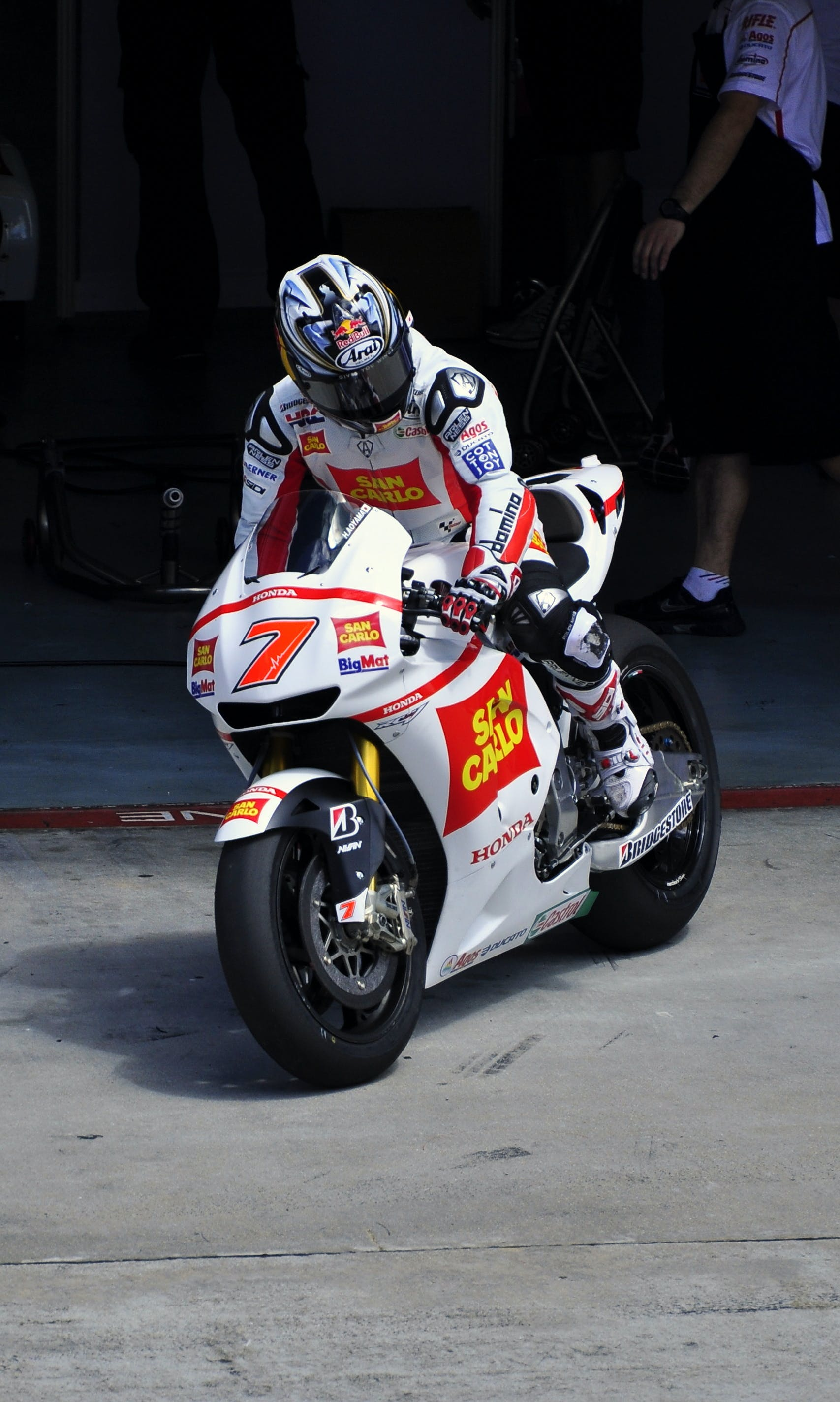 Free stock photo of Honda, motogp, race, racing