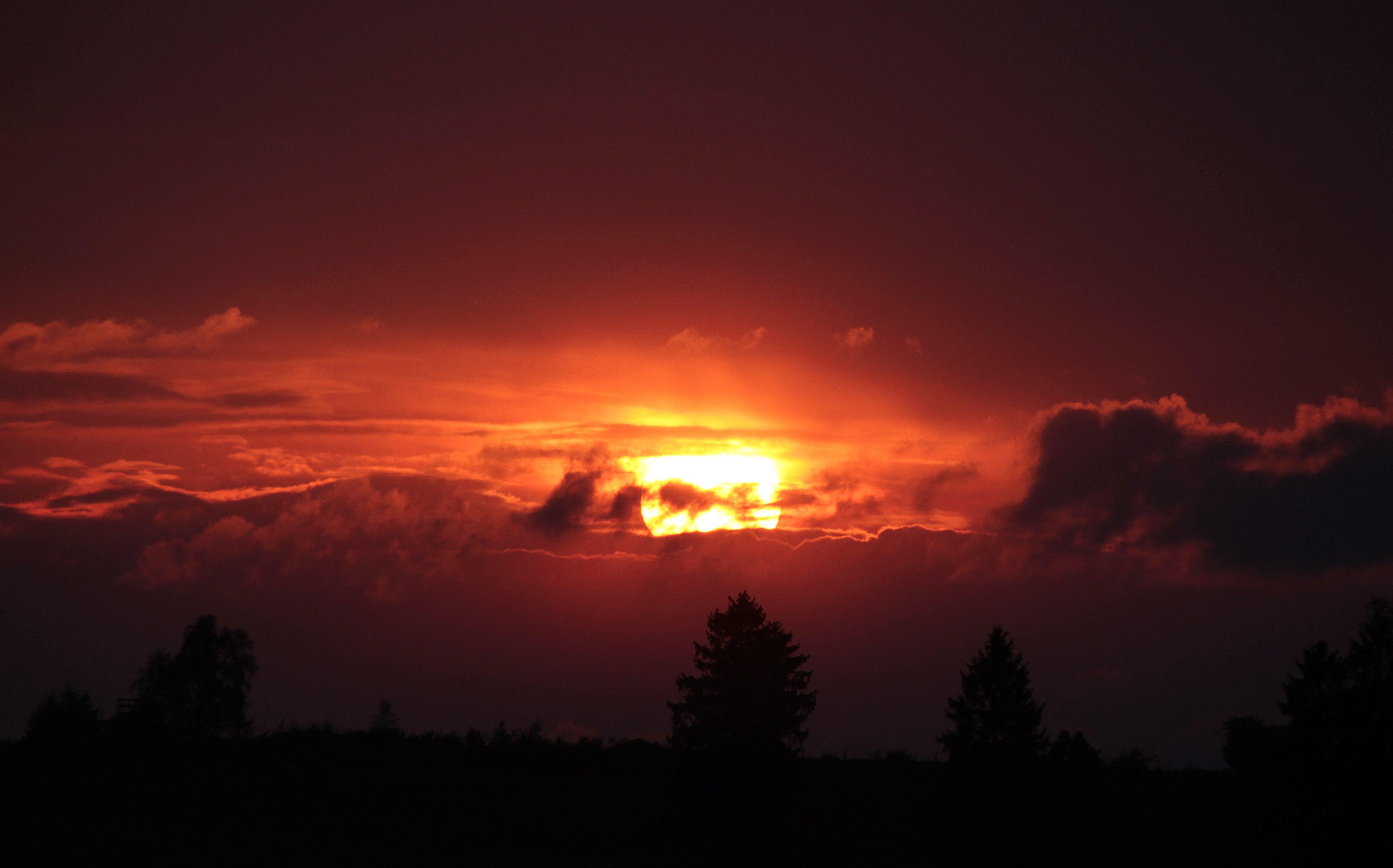 mraky, obloha, příroda