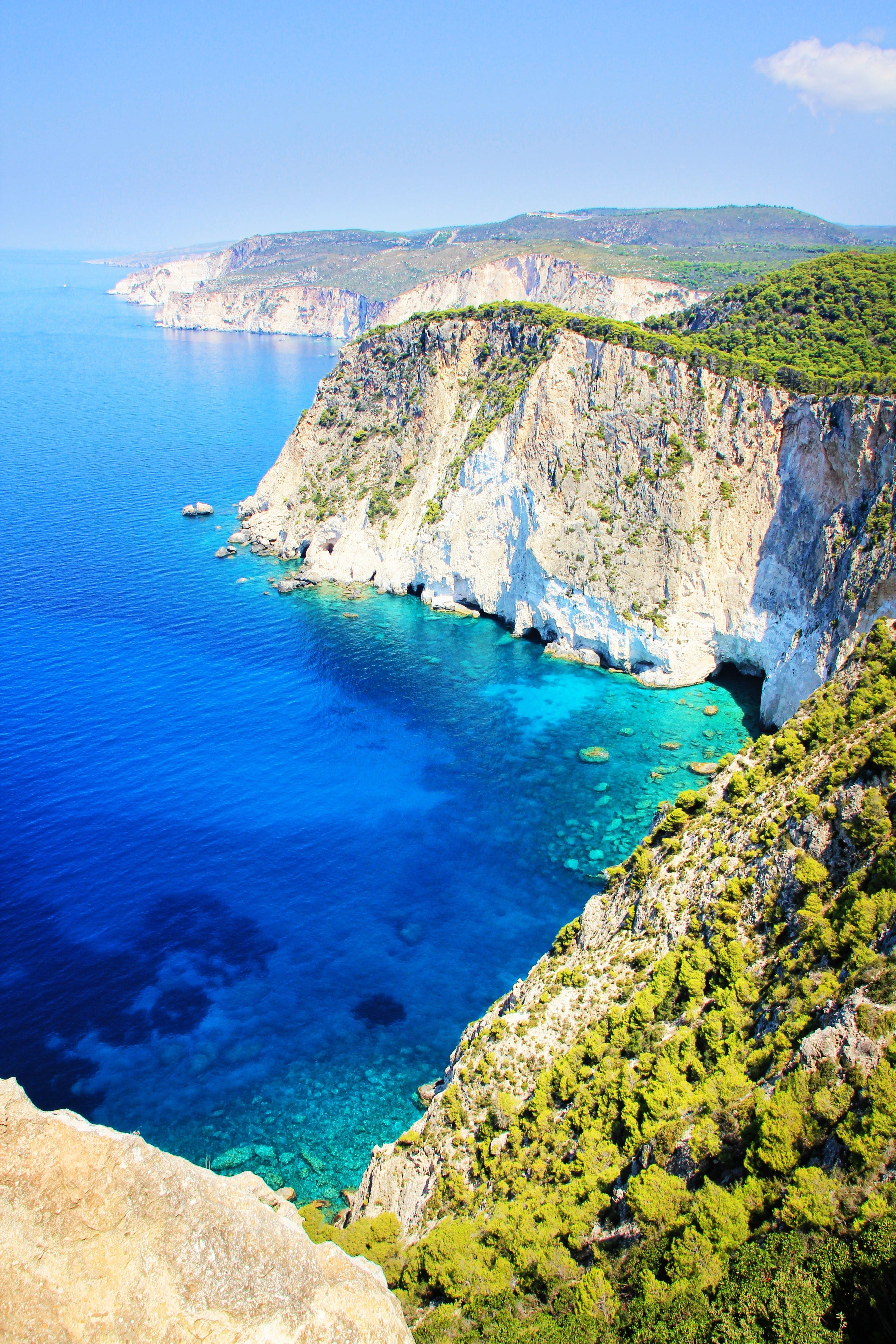 Gratis lagerfoto af hav, havudsigt, klippefyldt, kyst