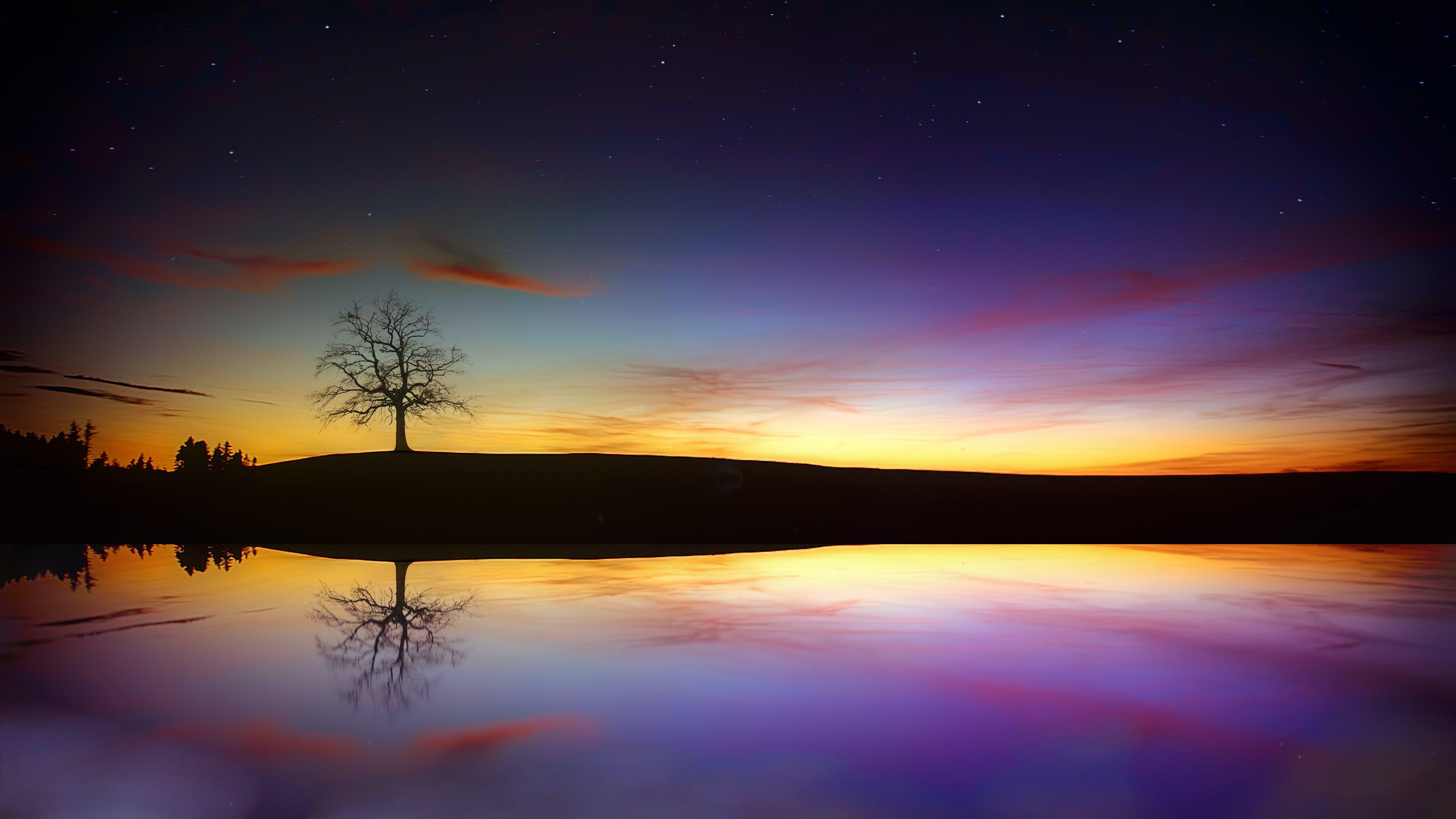 Ingyenes stockfotó asztali háttérképek, ég, hajnal, HD-háttérkép témában