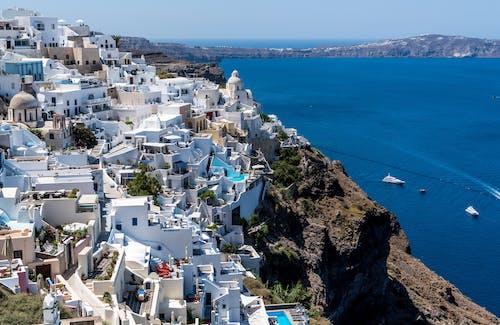 伊亞, 地中海, 城市, 城鎮 的 免费素材照片