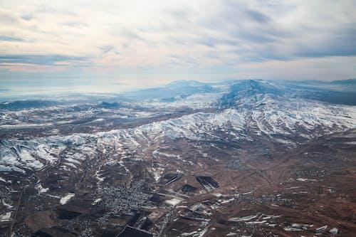Fotobanka sbezplatnými fotkami na tému hory, krajina, letecký záber, malebný