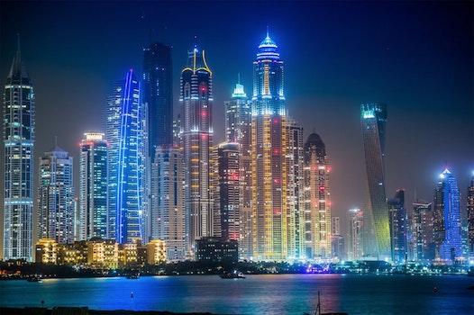 Grey High Rise Buildings