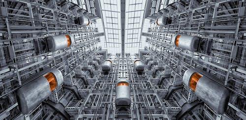 Immagine gratuita di acciaio, architettura, ascensore, ascensori