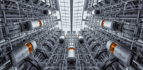 Fotos de stock gratuitas de acero, arquitectura, ascensor, ascensores