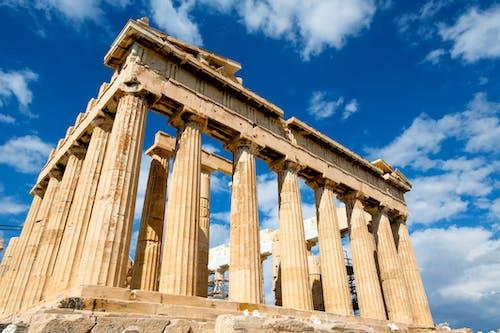 Foto stok gratis Arsitektur, Athena, bangunan, batu