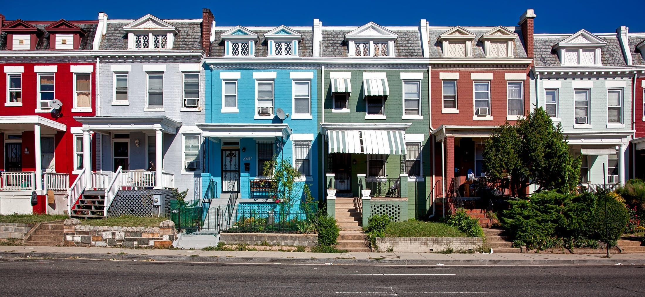 Δωρεάν στοκ φωτογραφιών με αρχιτεκτονική, γειτονιά, κτήρια, πανοραμικός