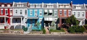 houses, street, buildings