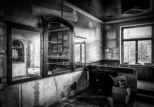 Ảnh lưu trữ miễn phí về bị bỏ rơi, kiến trúc, Tòa nhà, đen và trắng