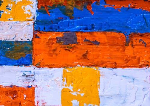 คลังภาพถ่ายฟรี ของ การทาสี, จิตรกรรมนามธรรม, ผ้าใบ, ศิลปะ
