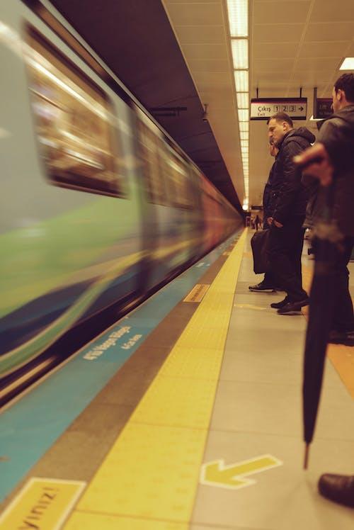 Free stock photo of metro, people, station, underground