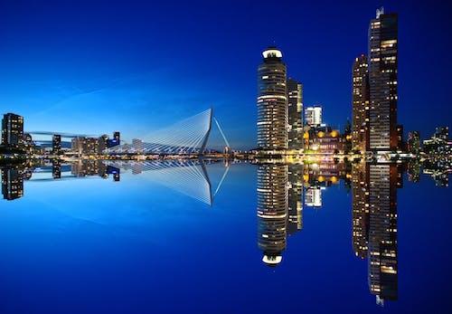 Foto profissional grátis de água, alvorecer, amanhecer, arquitetura