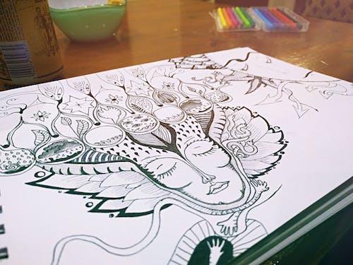 Безкоштовне стокове фото на тему «ілюстрація, блокнот, великий план, графіка»