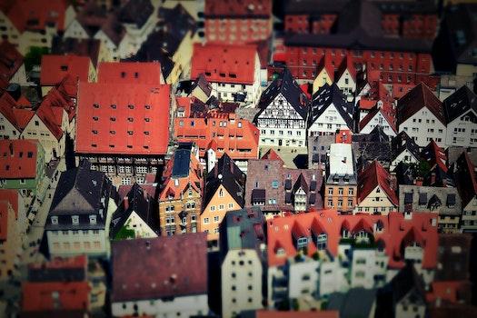 Tilt Shift of Urban View during Daytime