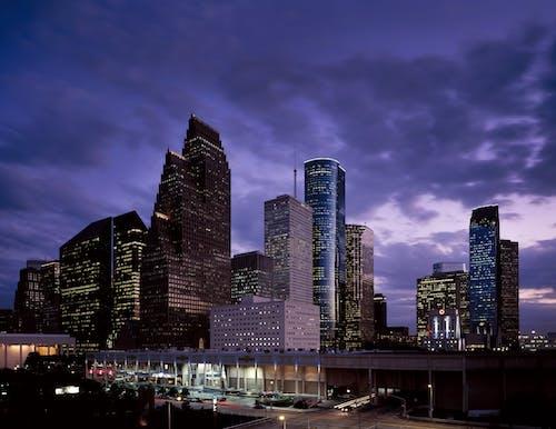 Kostnadsfri bild av arkitektur, byggnader, horisont, moln