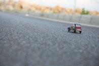 street, car, toy