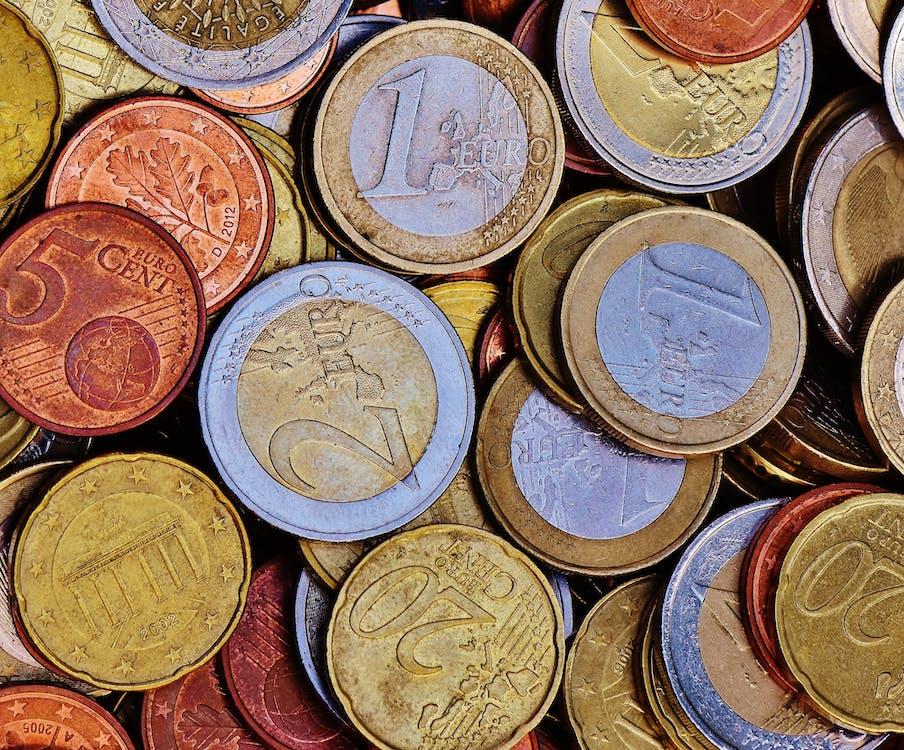 € münze, bank, cent