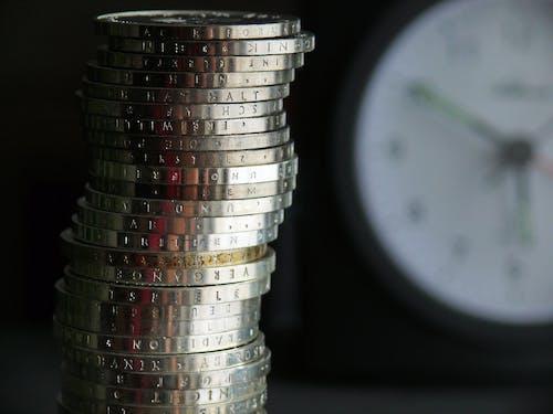 Kostenloses Stock Foto zu chrom, euro, geld, gravur